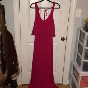 Rolla Coster Pink Maxi Dress